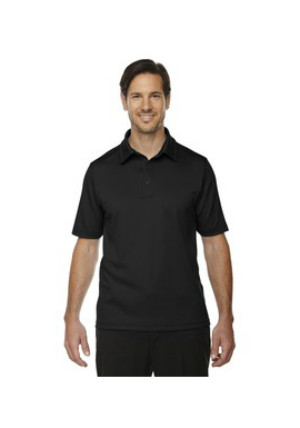 Ash City North End Sport Red 88803 - Men's Exhilarate Coffee Charcoal Performance Polo with Back Pocket