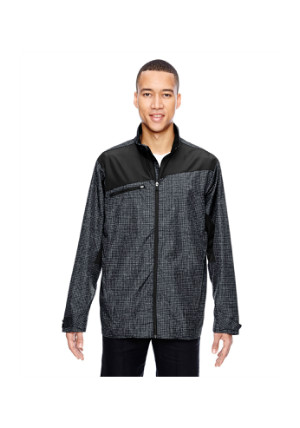 Ash City North End Sport Red 88805 - Men's Interactive Sprint Printed Lightweight Jacket