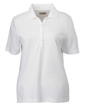 Ashworth 1147C Ladies' High Twist Cotton Tech Polo