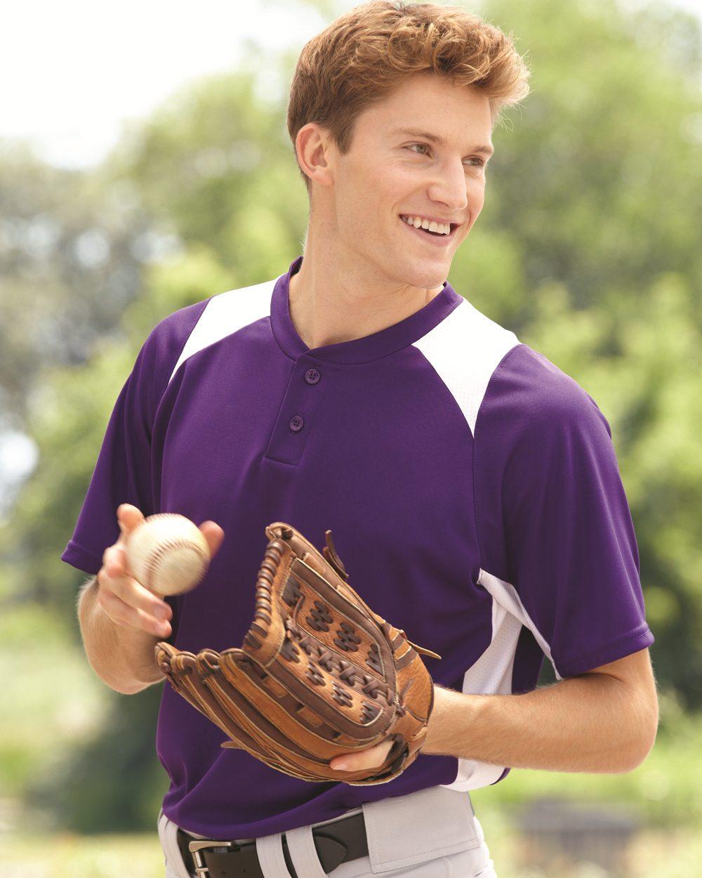 Augusta Sportswear 1520 - Gamer Colorblocked Baseball ...