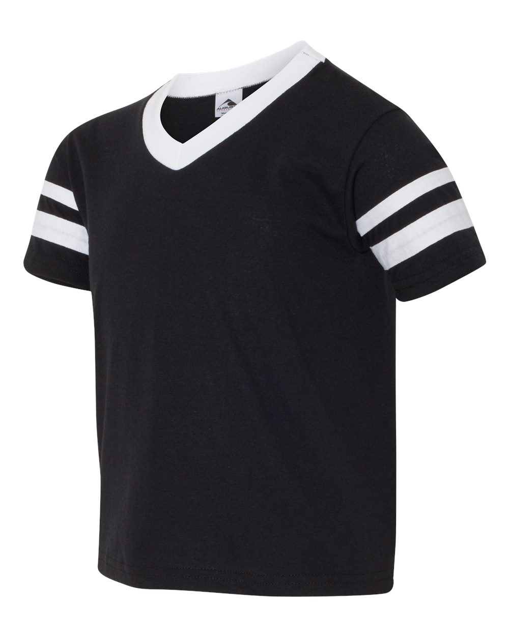 Augusta Sportswear 361 - Youth V-Neck Jersey with Striped Sleeves