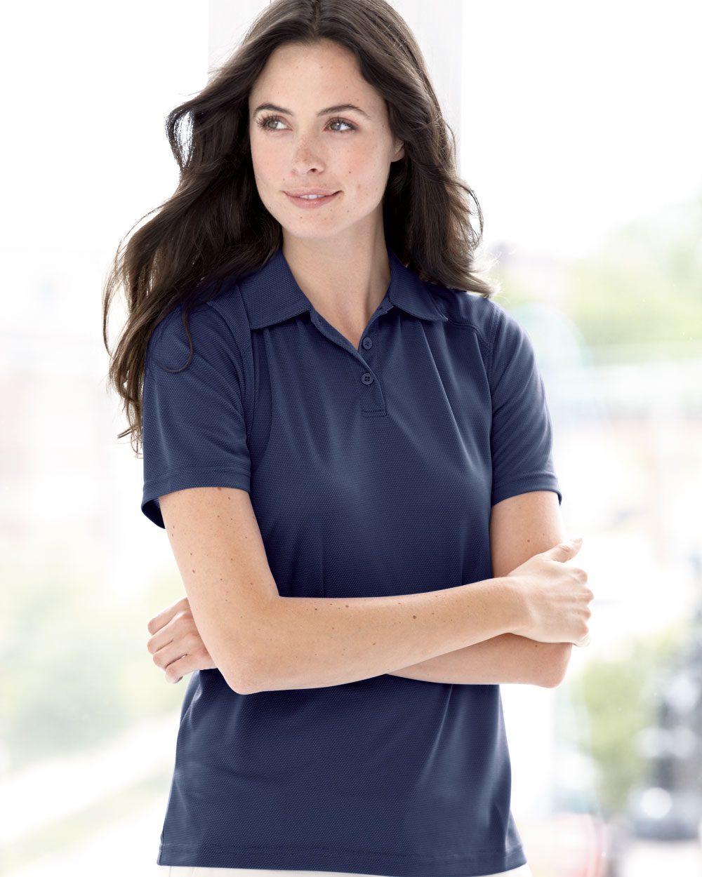 Augusta Sportswear 5002 - Ladies' Vision Textured Knit Sport Shirt