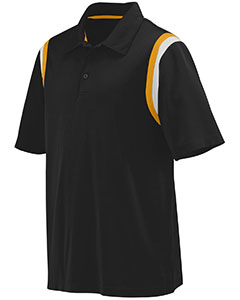 Augusta Drop Ship 5047 - Adult Wicking Snag Resistant Polyester Sport Shirt with Shoulder Inserts