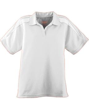 Augusta Drop Ship 5087 Ladies' Wicking Textured Color Block Sport Shirt