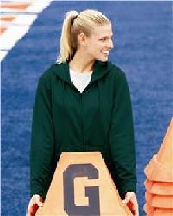 Augusta Sportswear 5525 Ladies' Wicking Fleece Hooded Sweatshirt