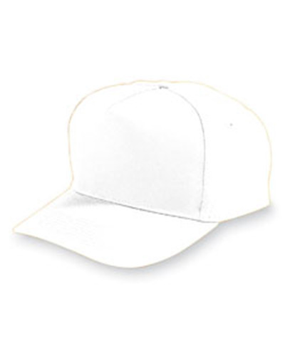 Augusta Drop Ship 6207 - Youth 5-Panel Cotton/Twill Cap