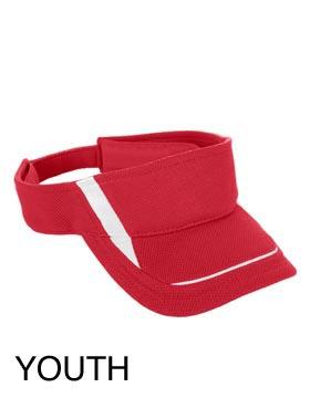 Augusta Sportswear 6276 - Youth Wicking Mesh Edge Visor