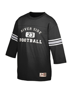 Augusta Drop Ship 676 Old School Football Jersey