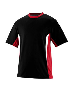 Augusta Drop Ship AS1511 - Youth PLY/WCK CLRBLK Jersey