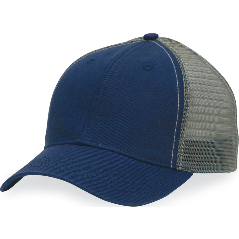 "Authentic Headwear AH80 ""The Duke"" Washed Trucker Cap"