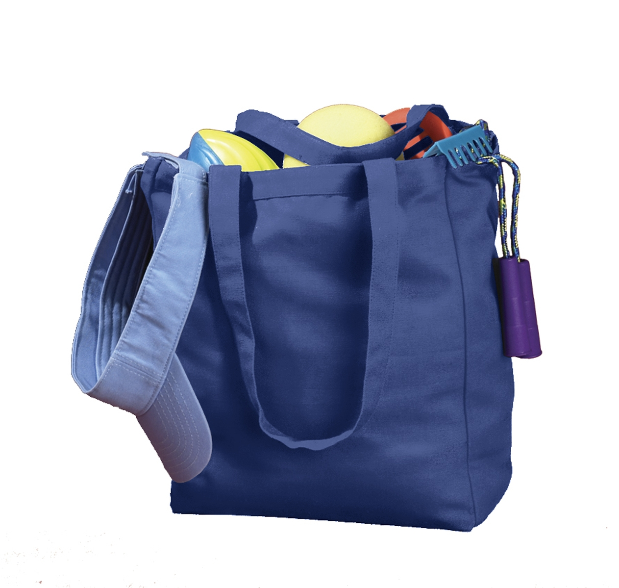 BAGedge BE008 12 oz. Canvas Book Tote