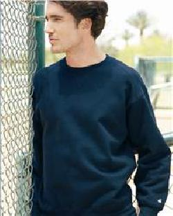 Badger Sport 1253 Crewneck Sweatshirt with a Front V-...