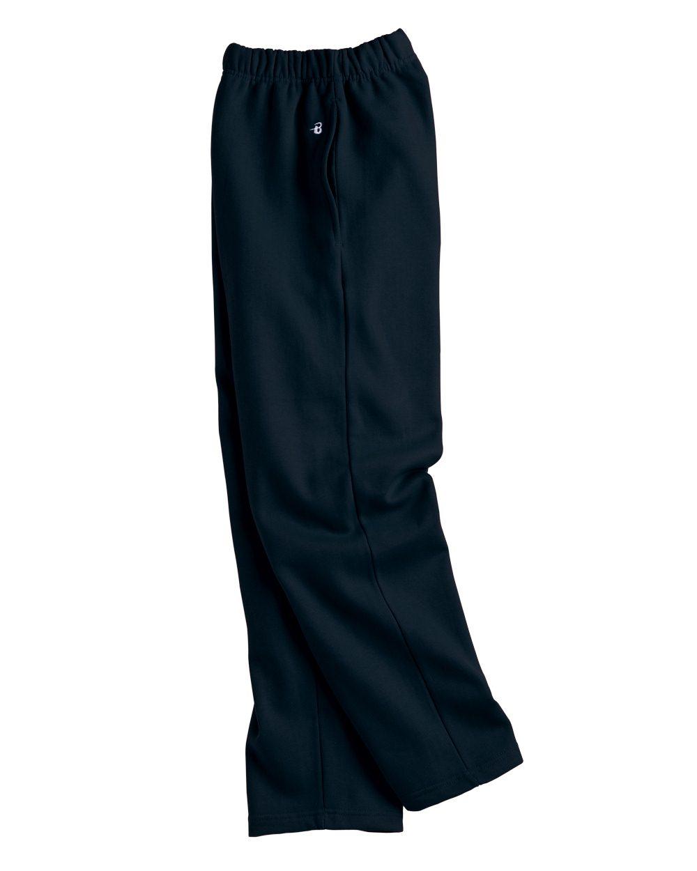 Badger Sport 1277 Open Bottom Sweatpants