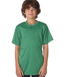 Badger 2930-Youth B-Dry Core Henley Performance Tee