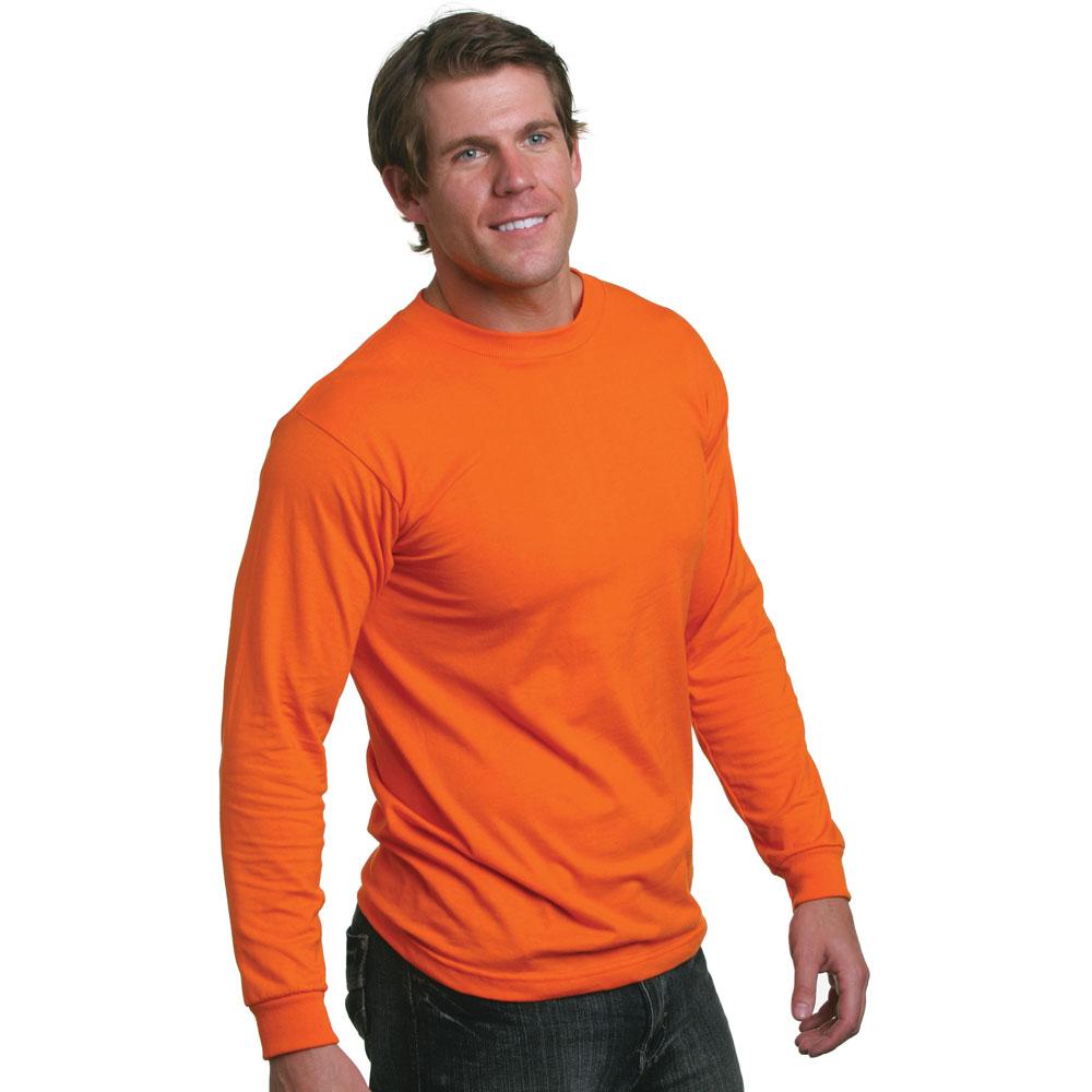 Bayside 1715 50/50 Long Sleeve T-Shirt