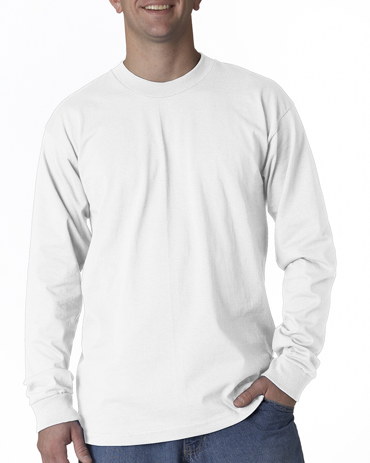 Bayside 2955 Union Made Long Sleeve T-Shirt