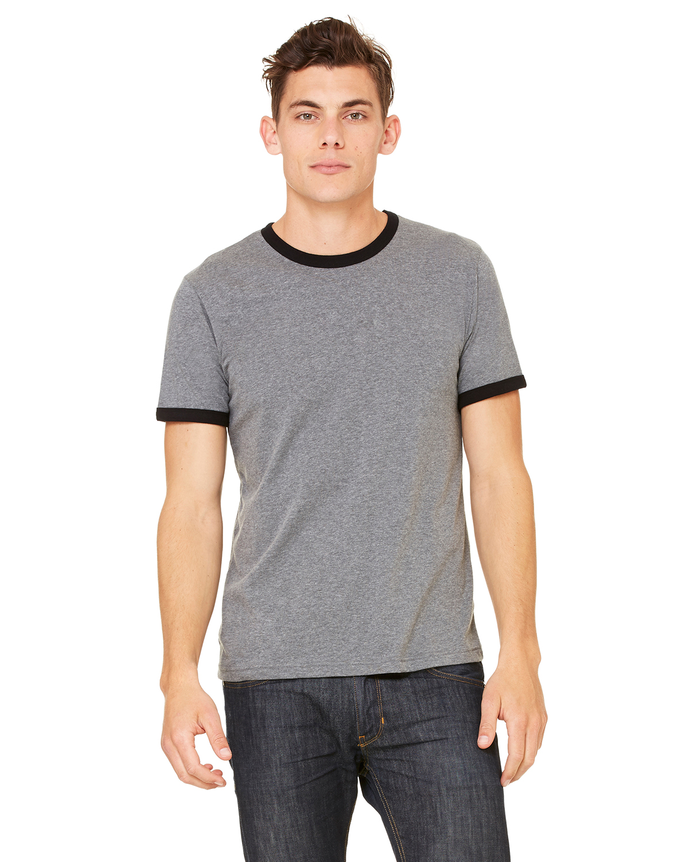 Bayside 3055 Union Made Long Sleeve T-Shirt with a Pocket