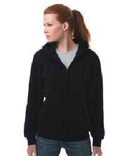 Bayside 900 Full-Zip Hooded Sweatshirt