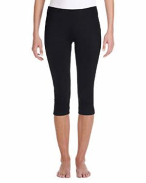 Bella + Canvas 0811 - Ladies' Cotton/Spandex Capri Fit Legging