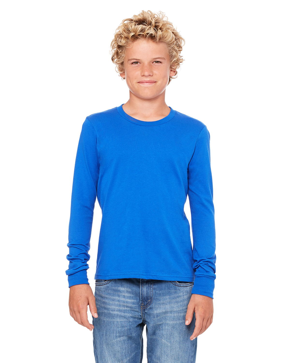Bella+Canvas 3501Y - Youth Jersey Long-Sleeve T-Shirt
