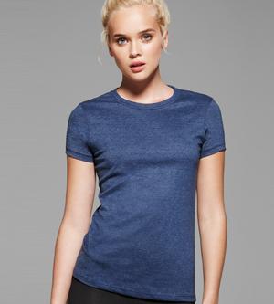 bella 6000H Ladies' Short Sleeve Crewneck Heather T-Shirt