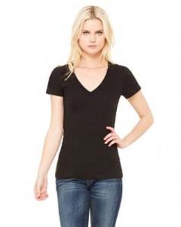 Bella 6035 - Jersey Deep V-Neck T-Shirt