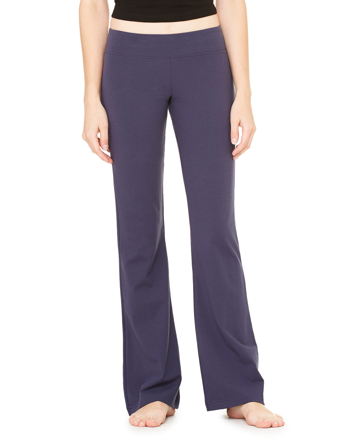 Bella 810  Women's Cotton/Spandex Yoga Pants