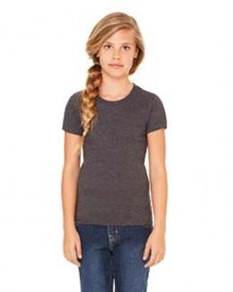 Bella 9002 - Girl Short Sleeve Jersey T-Shirt