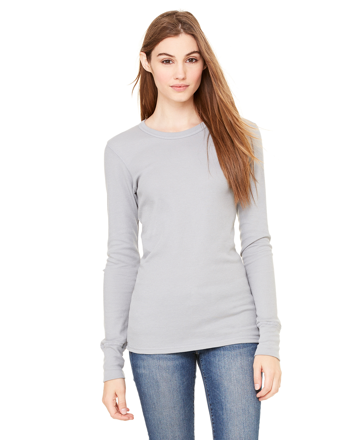 Bella B8500  Women's Long-Sleeve Irene Thermal Shirt