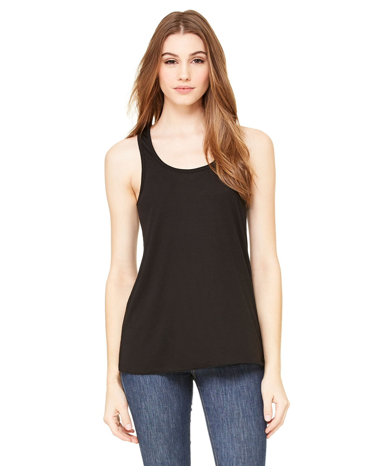 Bella B8800 Ladies 3.7 oz. Flowy Racerback Tank