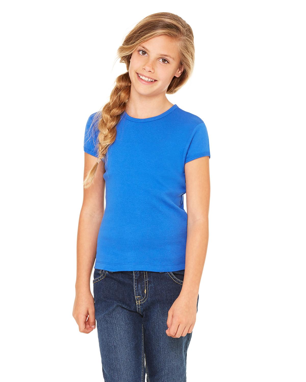 Bella B9001  Girl's Baby Rib T-Shirt