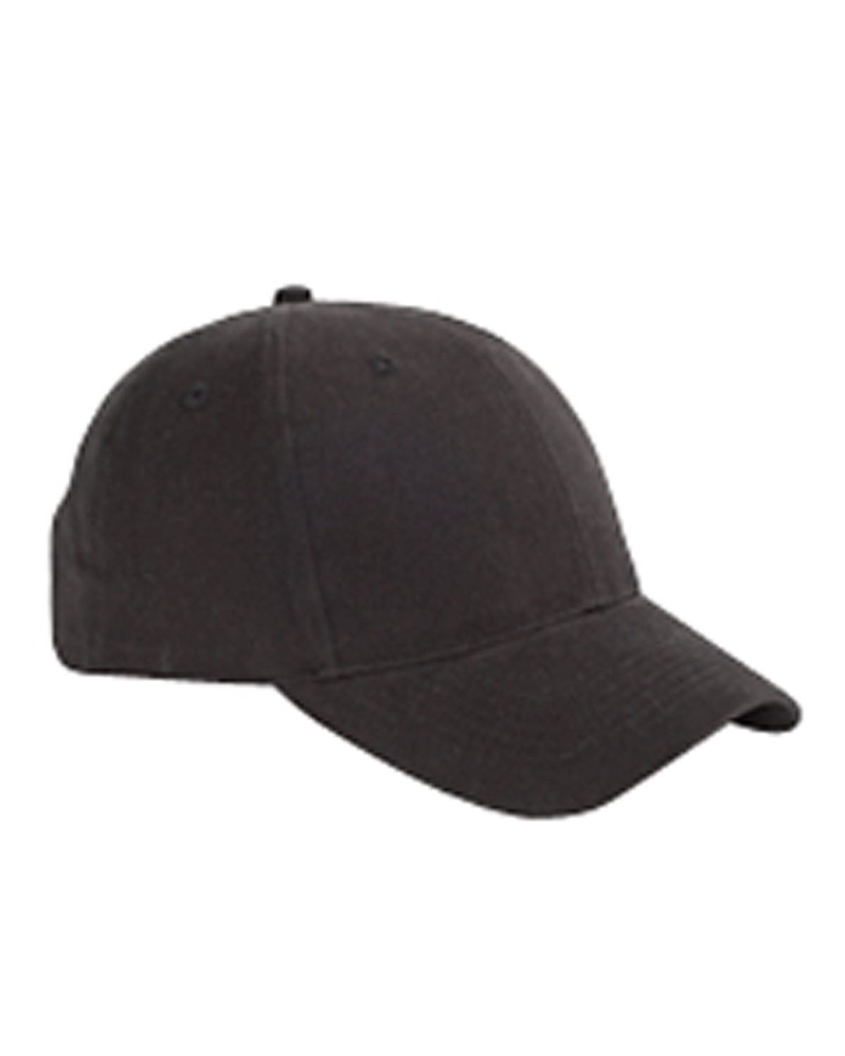 Big Accessories BX002 6-Panel Brushed Twill Structured Cap