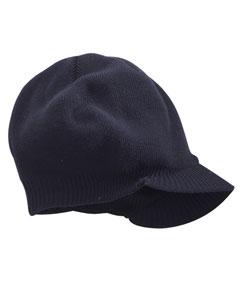 Big Accessories BX012  Knit Cap with Bill
