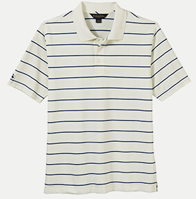 Brooks Brothers BR2104 Pencil Stripe Jersey Polo
