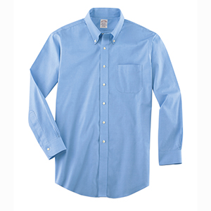 """Brooks Brothers WV537 Men's Non-Iron Pinpoint Cotton Dress Shirt - 36/37"""" sleeve"""