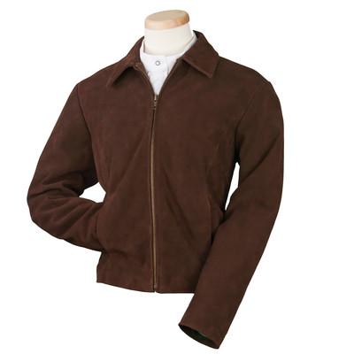 Burk's Bay BB7131 - Ladies' Suede Full Zip Jacket