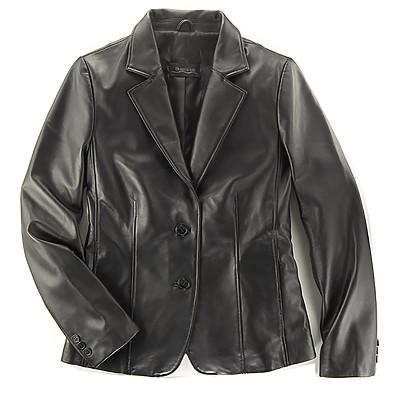 Burk's Bay BB7320 - Ladies' Lambskin 2 Button Blazer