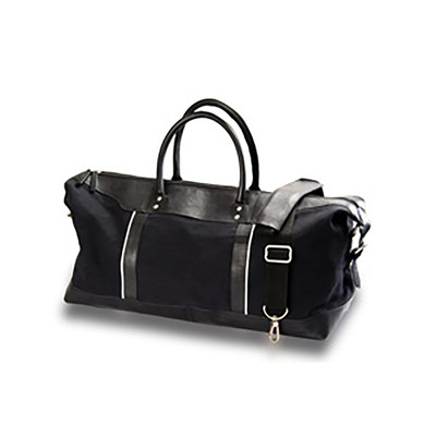 Burk's Bay NU140 - Canvas and Leather Travel Duffel Bag