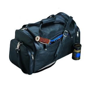 """Burk's Bay NU460 Leather 22"""" Sport Bag"""