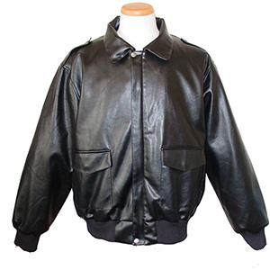 Burk's Bay S1000 Grizzly Gear Synthetic Leather Bomber