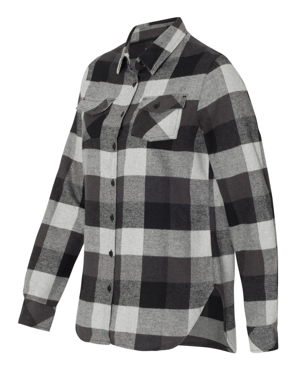 Burnside 5210 - Women's Yarn-Dyed Long Sleeve Flannel ...
