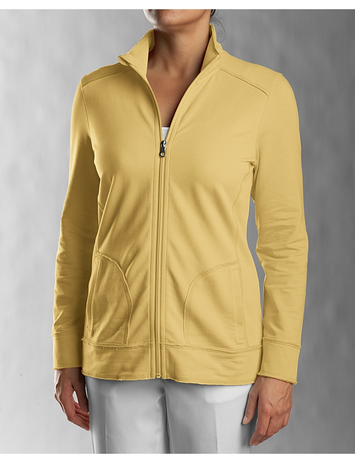 CUTTER & BUCK LCK02348 - Ladies' Ravenna Raw Edge Full Zip