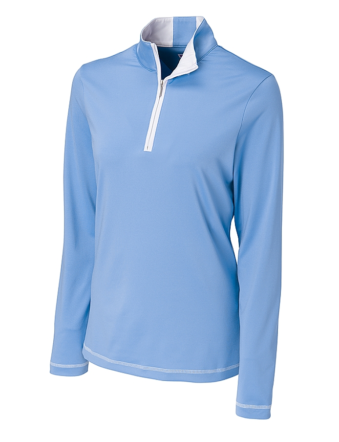 CUTTER & BUCK LCK02367 - Ladies' CB DryTec L/S Choice ...