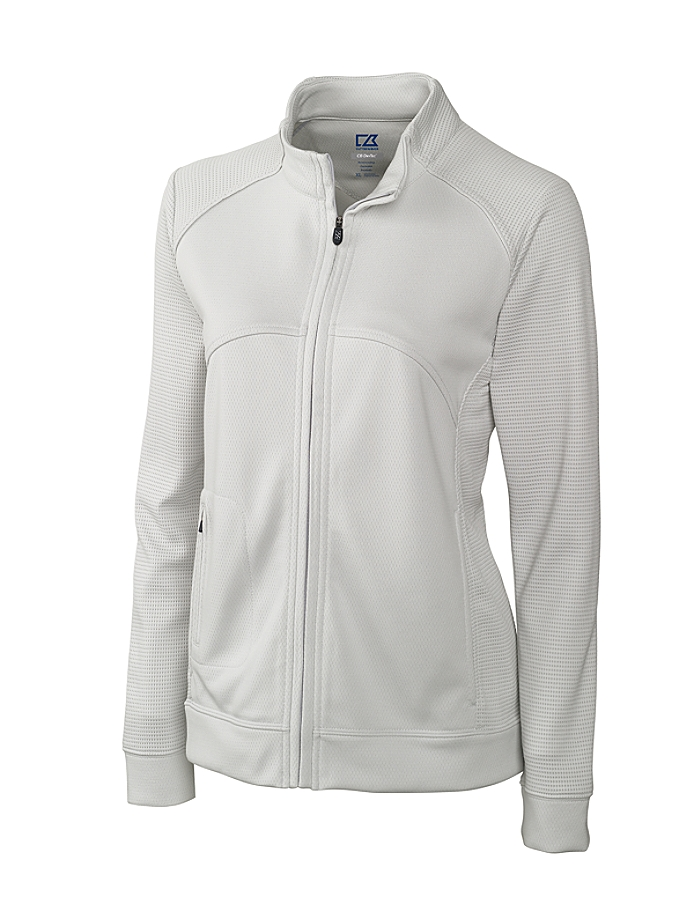 CUTTER & BUCK LCK08514 - Ladies' CB DryTec Edge Full Zip