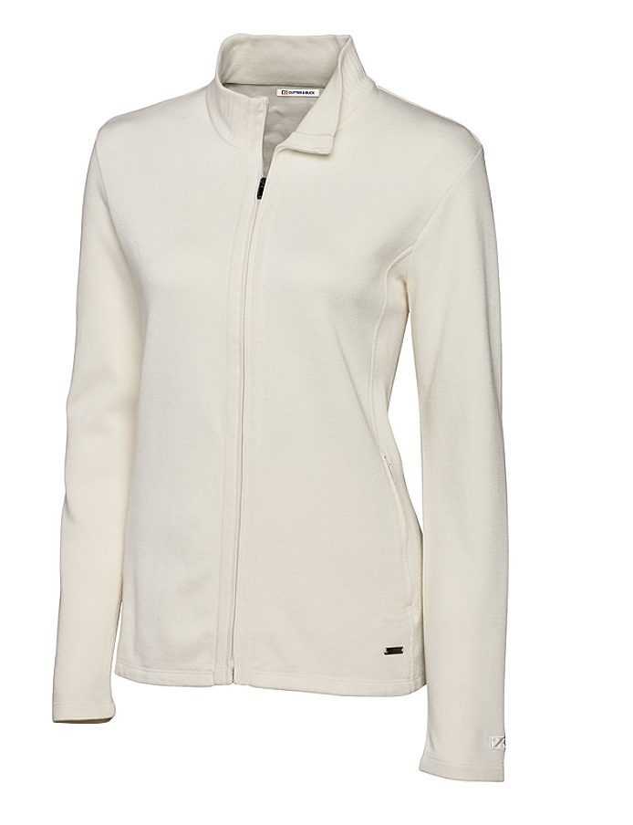 CUTTER & BUCK LCK08632 - Ladies' Journey Supima Flatback Full Zip