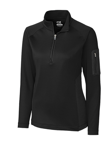CUTTER & BUCK LCK08666 - Ladies' Shaw Hybrid Half Zip