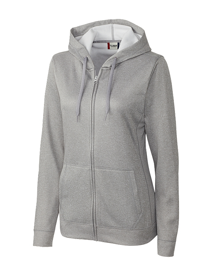 CUTTER & BUCK LQK00046 - Clique Ladies' Vaasa Full Zip ...