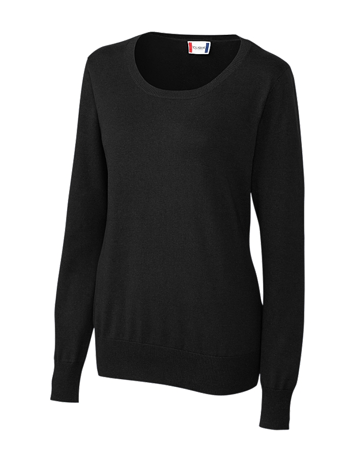 CUTTER & BUCK LQS00001 - Clique Ladies' Imatra Scoop Neck Sweater