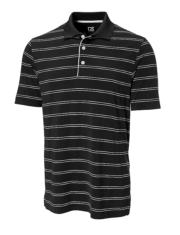 CUTTER & BUCK MCK00659 - Men's CB DryTec Hawthorne Stripe