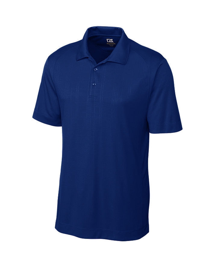CUTTER & BUCK MCK00665 - Men's CB DryTec Sullivan Embossed Polo